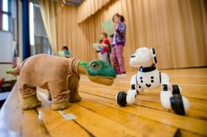 Robot Theatre Play