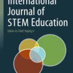 Cover of the International Journal of STEM Education, four circles overlapping