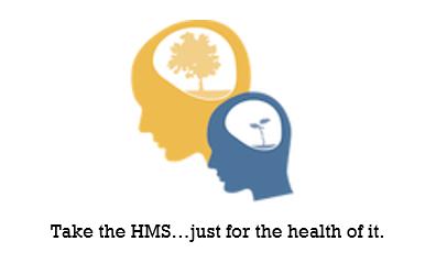 Healthy Minds Heads Sticker with tagline