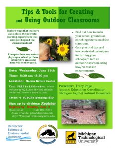 OutdoorClassroom Workshop FlyerDRAFT 022618