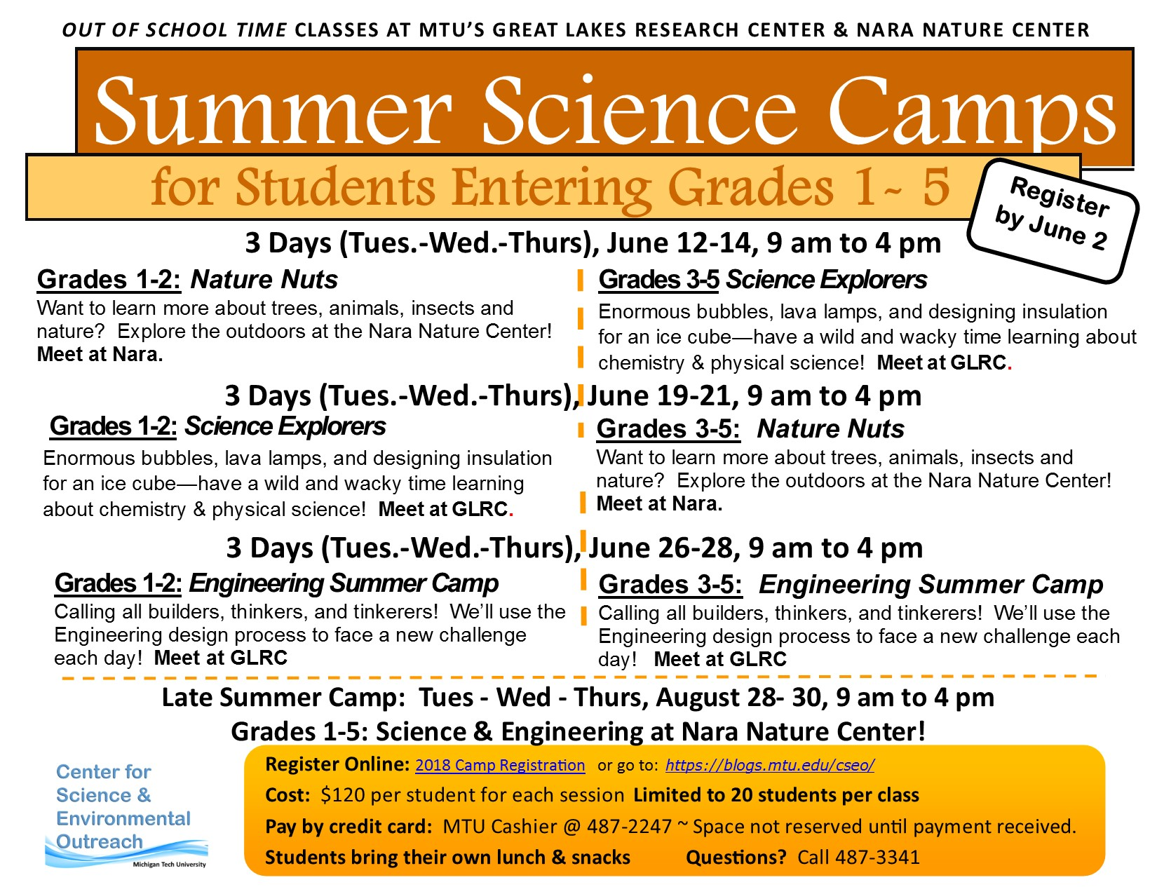 2018SummerScienceCamp_Gr.1-5 Flyer_DRAFT 05.10.18