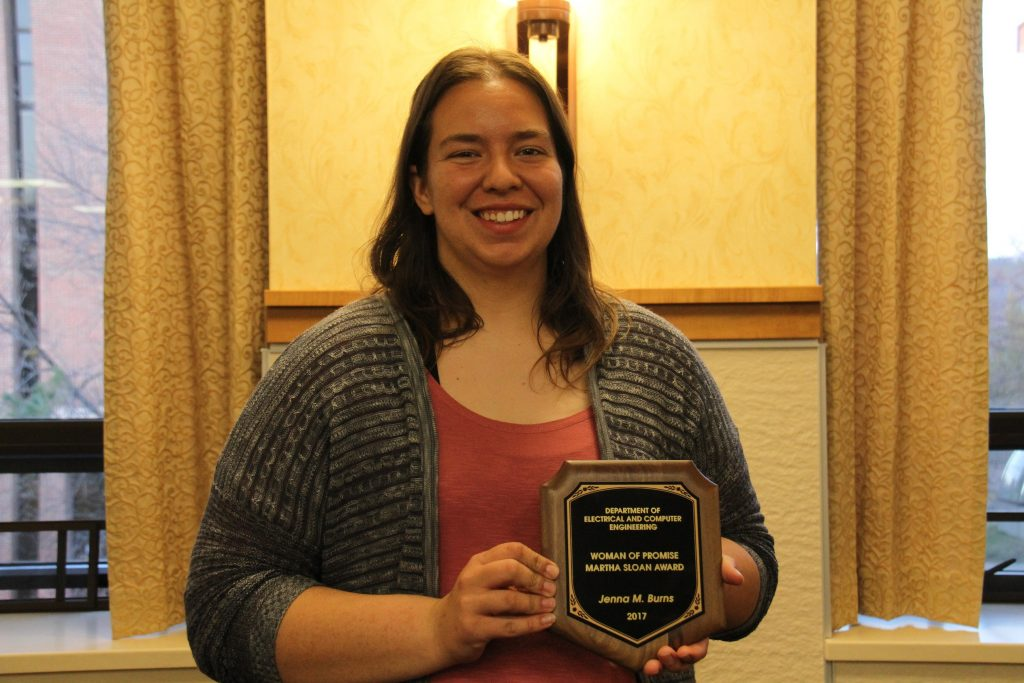 Jenna Burns, 2017 ECE Woman of Promise