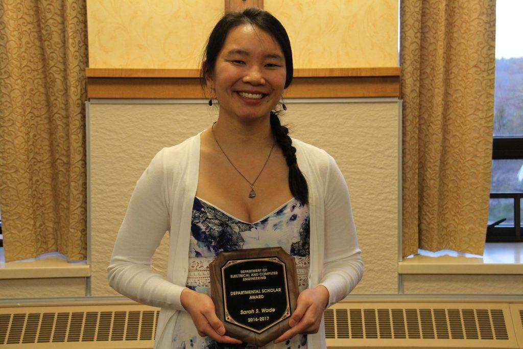 Sarah Wade, 2017 ECE Departmental Scholar