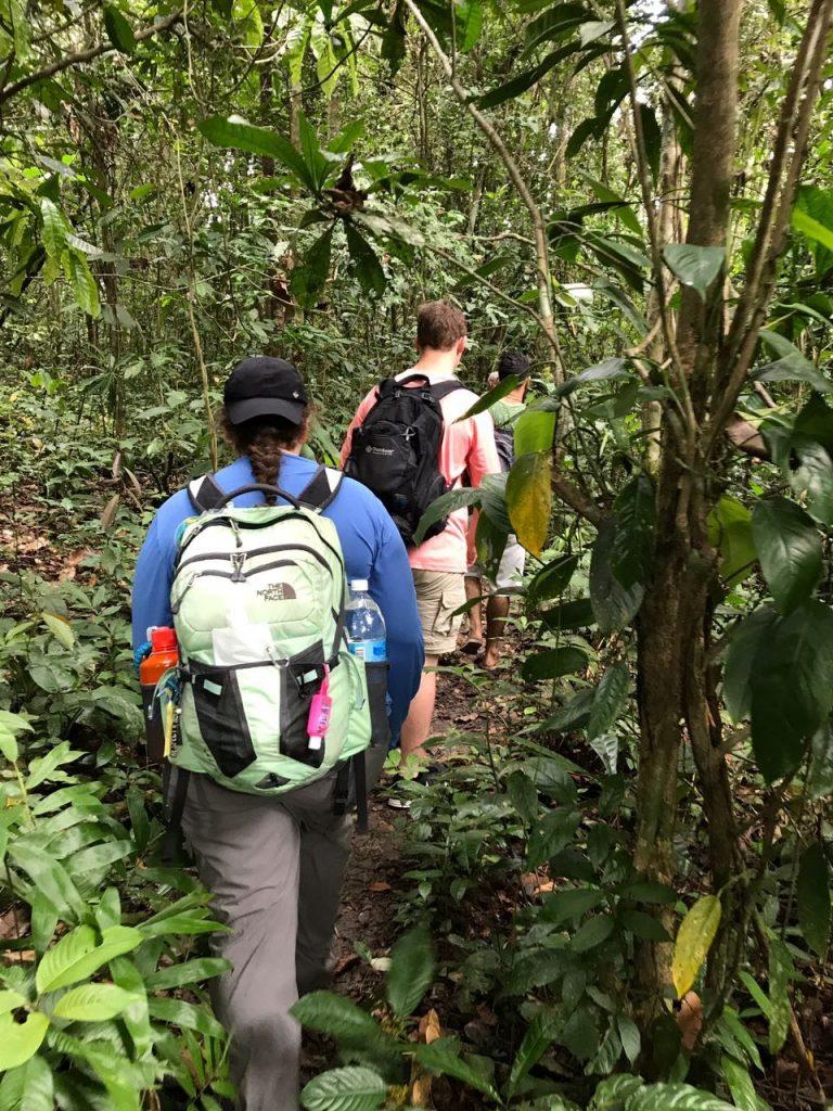 pavlis-rainforest-students
