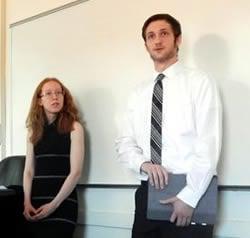 Kyla Valenti and Cameron Burke