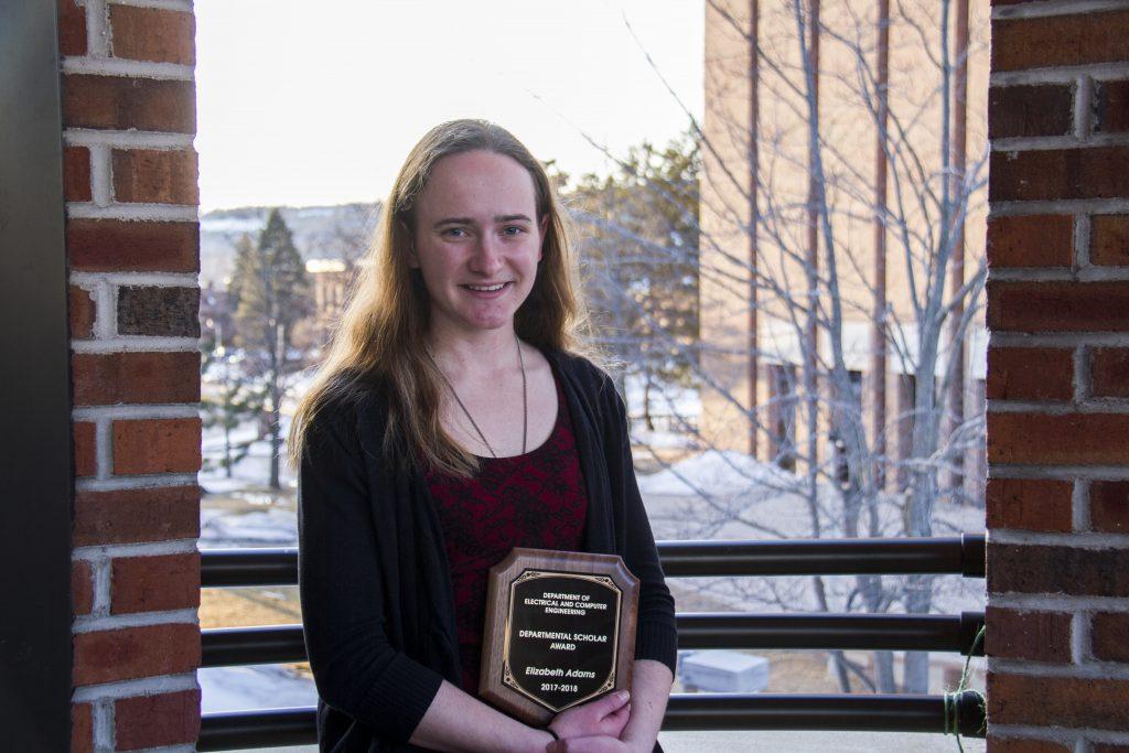 ECE 2018 Departmental Scholar: Elizabeth (Liz) Adams