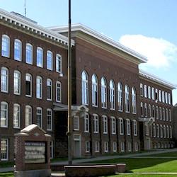 CLK Public School exterior.