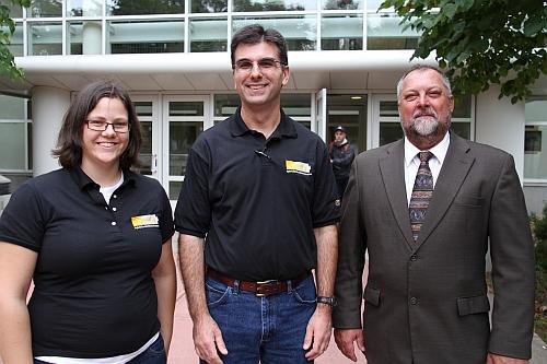 Rebecca Farrer, Robert Page (MEEM) and John Lukowski (ECE)