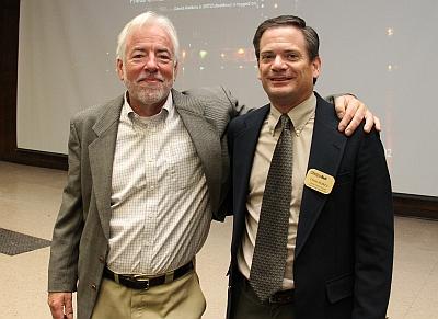 James Boyce, University of Massachusetts, and David Watkins, Michigan Tech