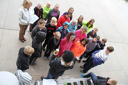 Lake Superior Water Festival October 23, 2014 at the Great Lakes Research Center, Michigan Tech