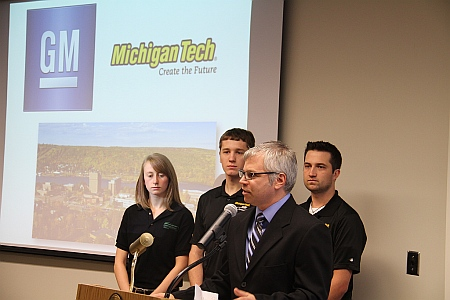 Rich Berkey  and team members  tell how funding helps students
