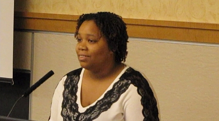Tayloria Adams, Outreach Coordinator, Center for Diversity & Inclusion