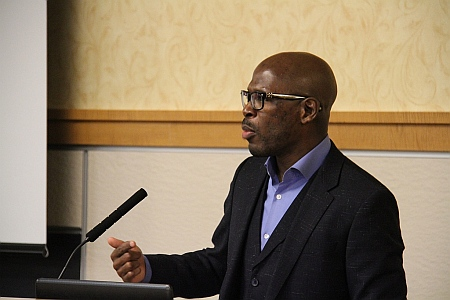 Dr. Daymond Glenn, vice president for community life, chief diversity officer and assistant professor of urban studies at Warner Pacific College