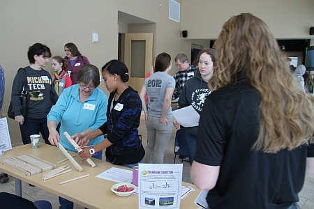 Engineering Day for Girls at Michigan Tech