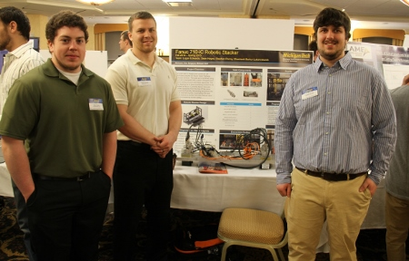 3rd Place Award - 110 - Design and Development of an Automated Stacker