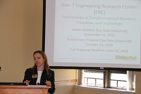Adrienne Minerick, associate dean of research and innovation, College of Engineering