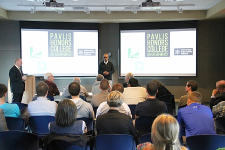Michigan Tech Entrepreneur Meet-up and  business plan pitch