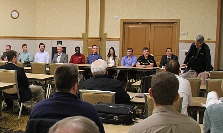 Michigan Tech Rail Industry Panel at Rail Day