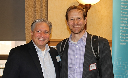 Art Guzzetti, Vice President - Policy, American Public Transportation Association and Pasi Lautala, Director of Rail Transportatio 11th Annual Railroad Night at Michigan Tech