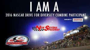 NASCAR Driving for Diversity Combine 2016