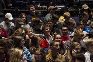 Students in the audience at Rozsa