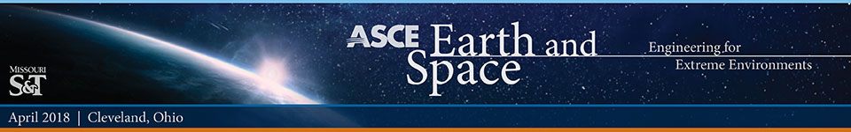2018 ASCE Earth and Space banner