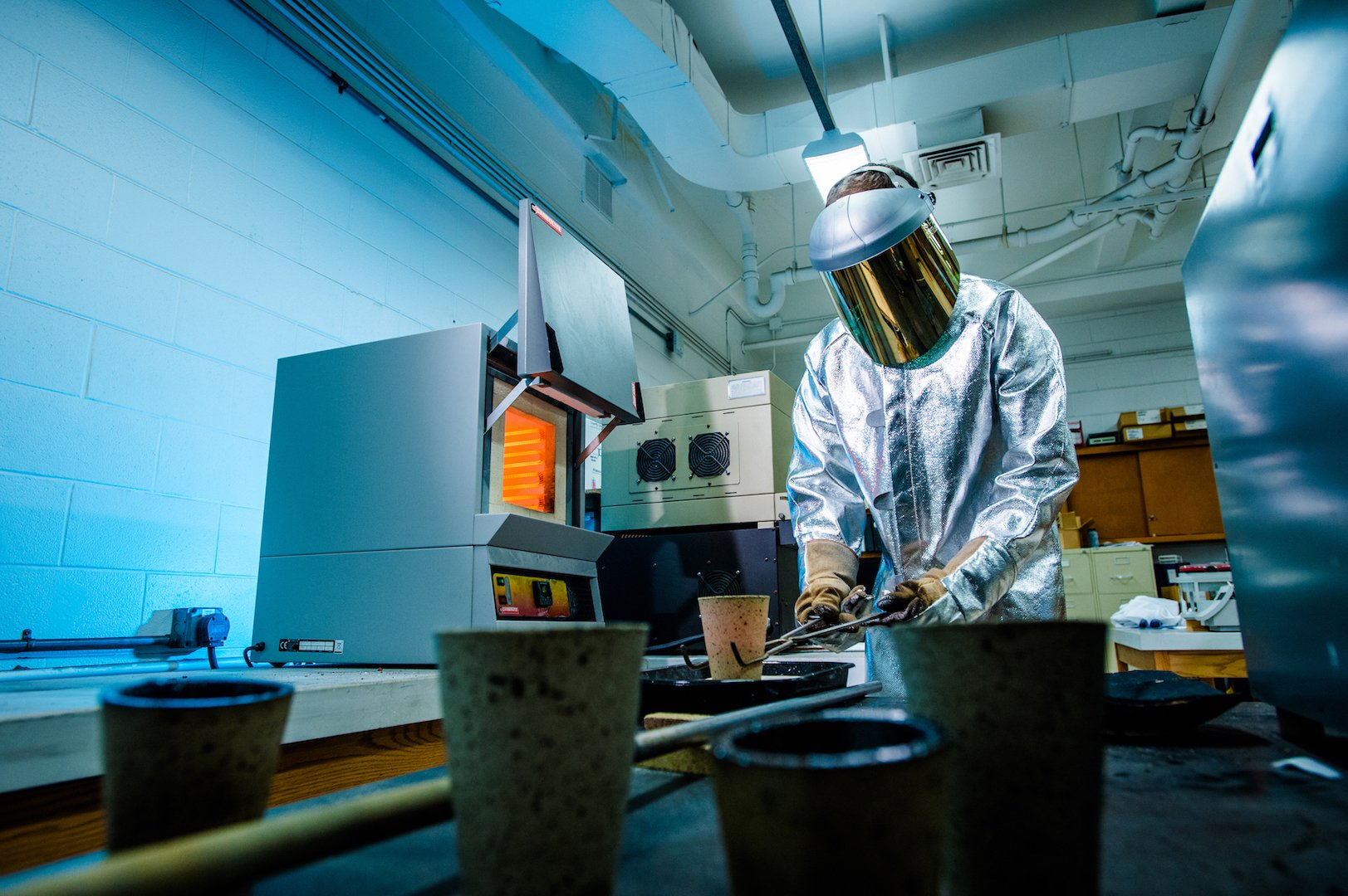 Advanced Sustainable Iron and Steel Making at Michigan Tech