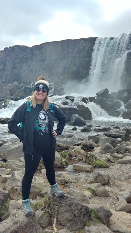 Through the Green Program, Zoé Ketola studied abroad in Iceland with a strong focus on clean renewable energy