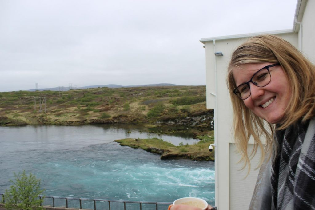Zoe Ketola, Systems Engineering undergraduate, studied renewable energy in Iceland this summer.