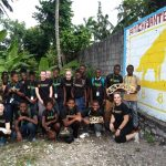 Six engineering students from Michigan Tech's chapter of Engineering World Health visited Les Cayes, Haiti in May 2018.