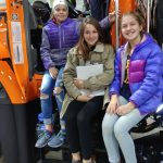 BMS eCYBERMISSION girls visit MDOT garage