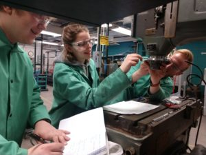 Advanced Metalworks team in the lab
