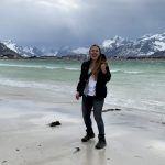 Michigan Tech Environmental Engineering student Amber Kauppila in Vaasa, Finland