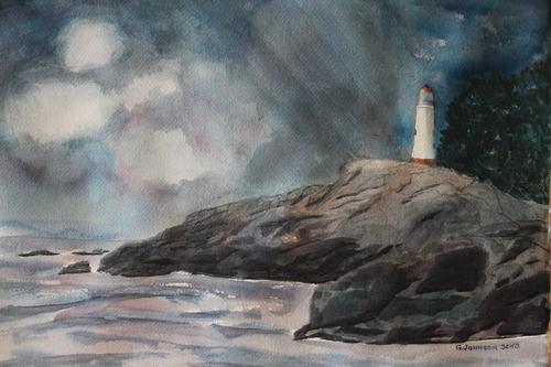 Stormy Seas, 2016, Gary Johnson