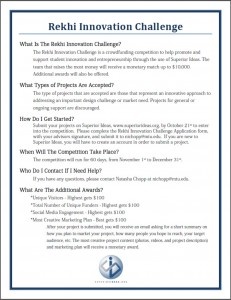 fall 15 rekhi innovation challenge