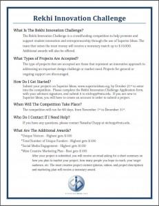 fall 15 rekhi innovation challenge
