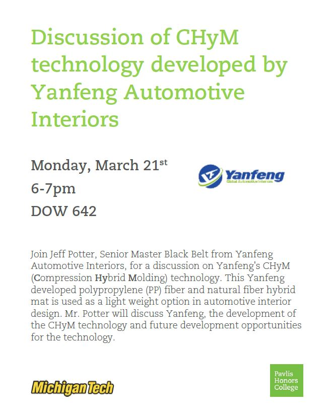 Yanfeng Automotive Interiors Info Session Compression Hybrid Molding Technology Chym