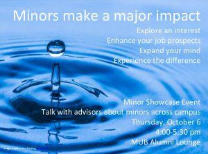 Minor Showcase Event