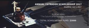 cgtrader scholarship