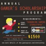 GamingScan Scholarship