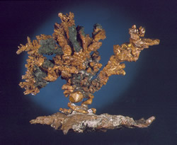 Copper, Central Mine, Keweenaw County