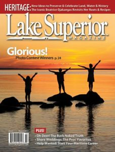 Lake Superior Magazine Cover