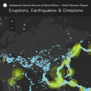 Eruptions Earthquakes Emissions