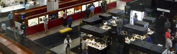 Tucson 2018 exhibitor hall.