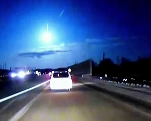 Hamburg Meteorite appears in the news video feed.