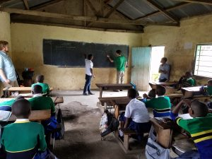 Teaching Nkwamakuu Students