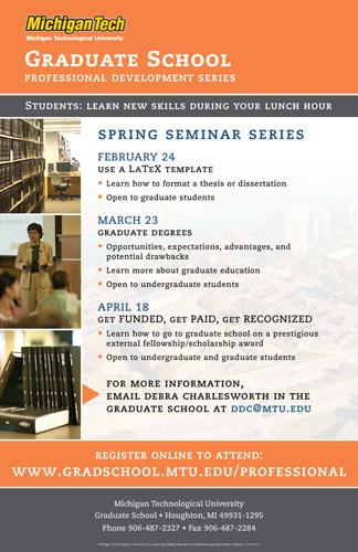 Spring 2012 Professional Development Seminar Series