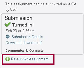 Can you resubmit a dissertation