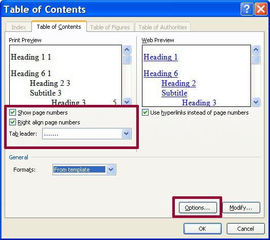 How To Create A Hyperlinked Table Of Contents Graduate School