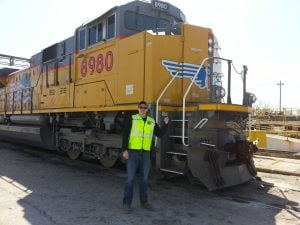 REAC trip to Union Pacific Railroad Headquarters in Omaha, NE